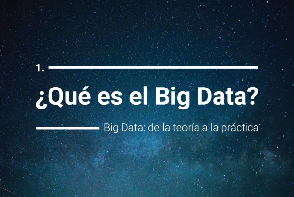 Definición de Big Data
