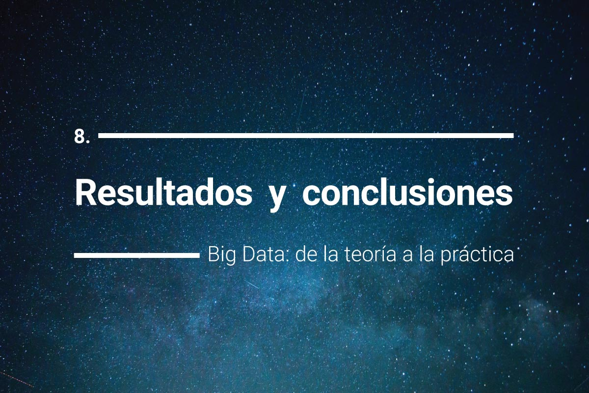 Big Data, resultados y conclusiones